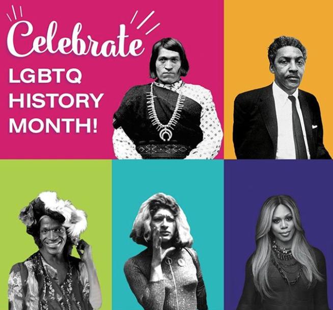 celebrate lgbtq history month image