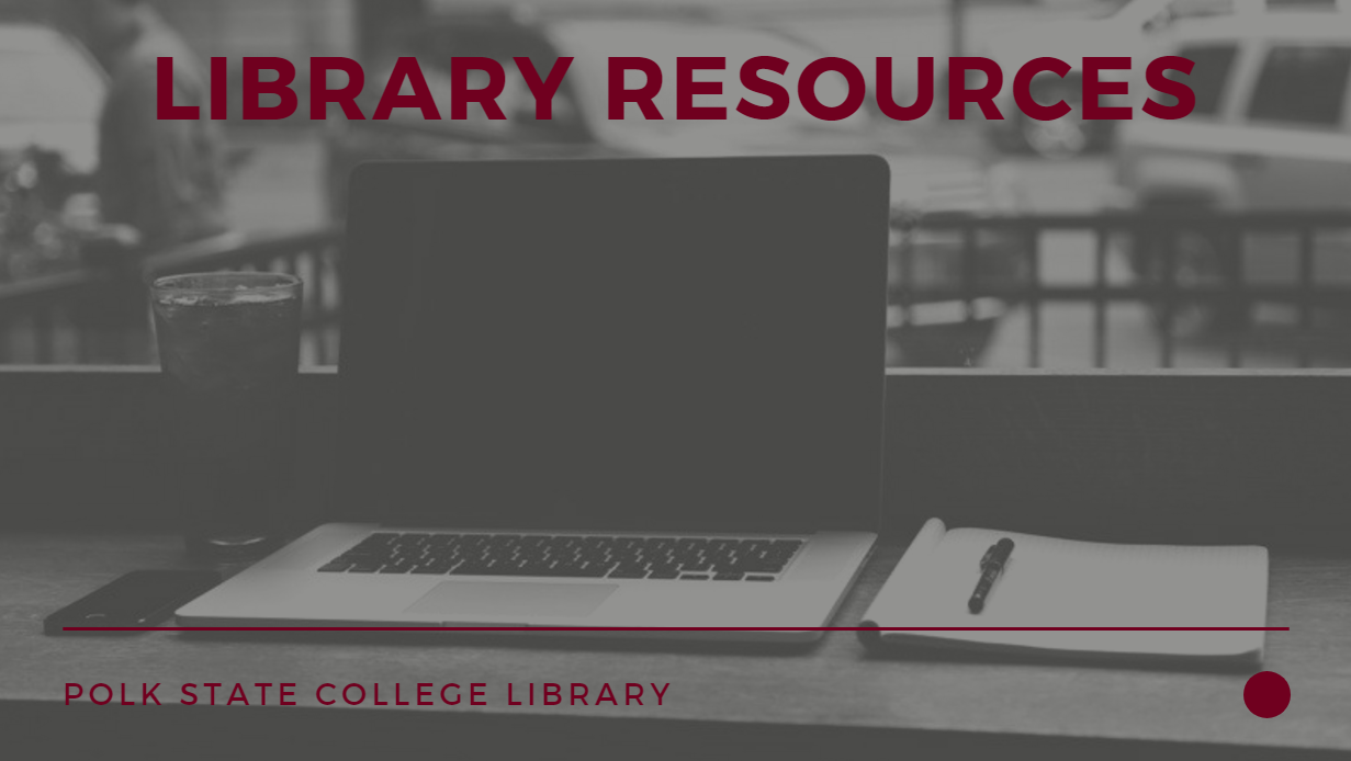 library resources intro