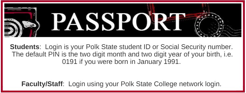 passport login