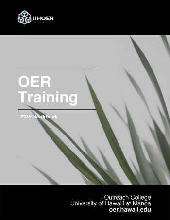OER training manual book cover