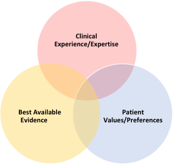 Evidence Based Nursing Venn Diagram