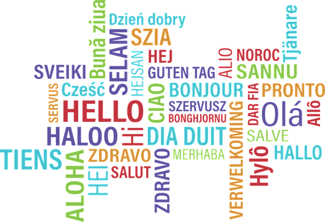 'Hello' in various foreign languages