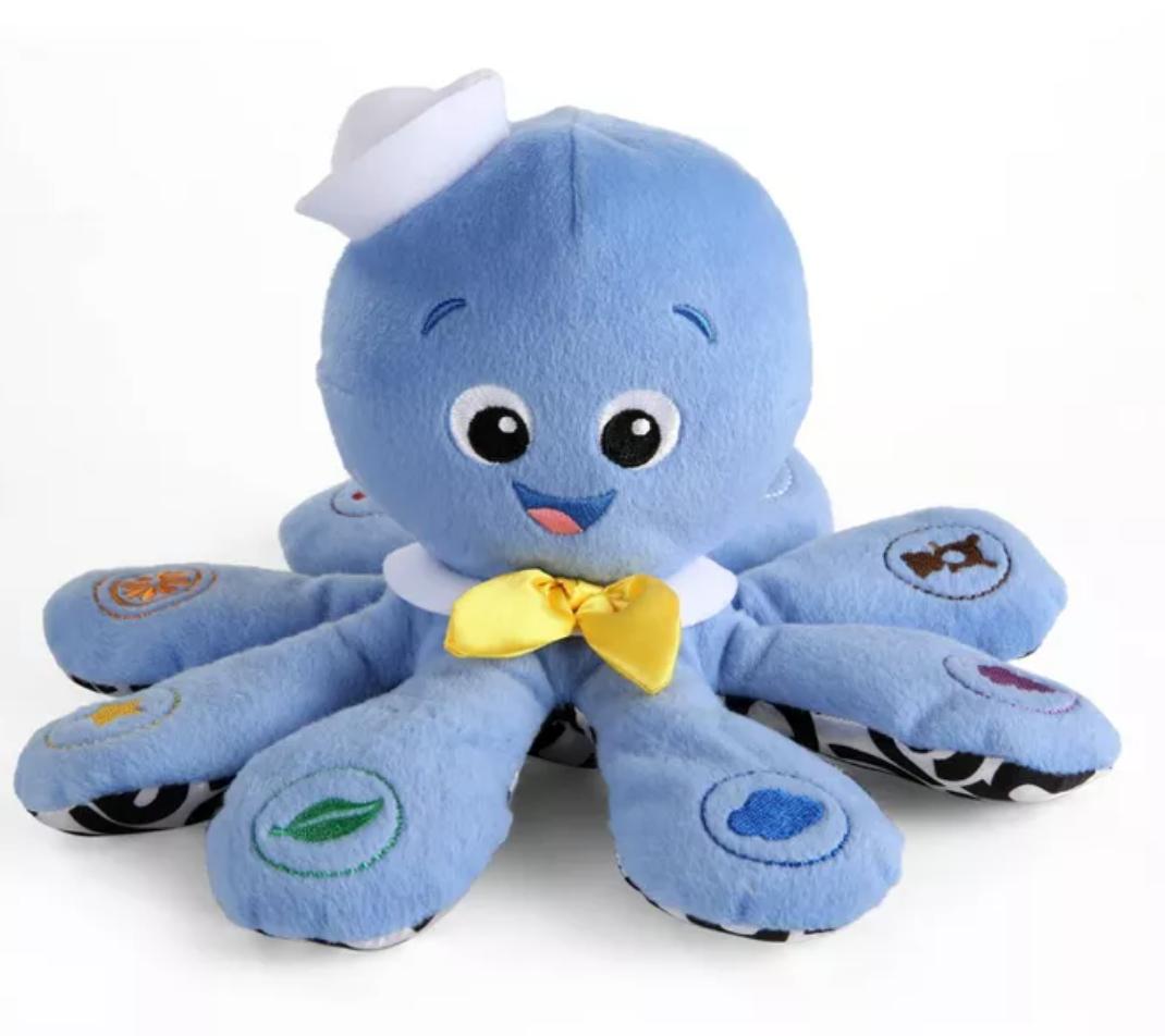Plush Baby Octopus Educational Toy
