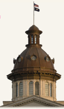 SC Statehouse dome.