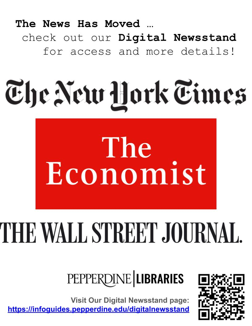 Promotional Poster for Digital Newsstand featuring several newspaper logos