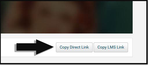 Copy Direct Link button in Swank Digital Campus