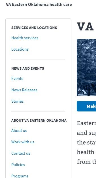 VA Eastern Oklahoma Health Care