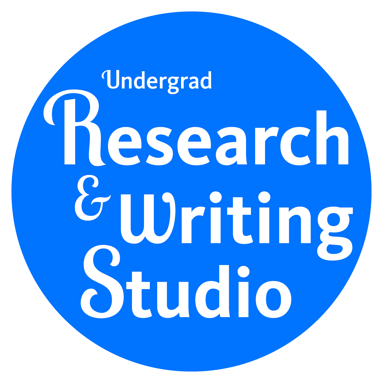 Undergrad Research and Writing Studio