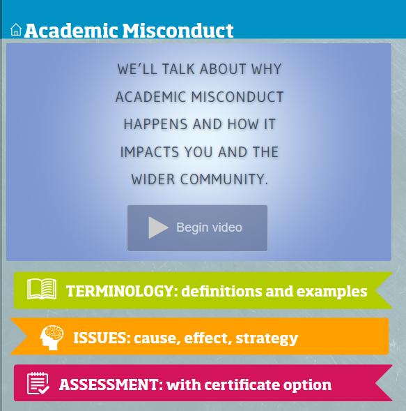 Academic misconduct