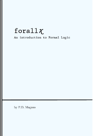 Introduction to Formal Logic  [cover image]
