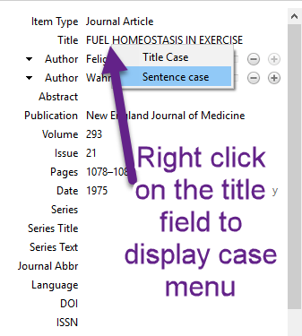 Right click to show case menu