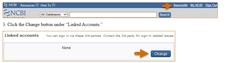 Add a partner organization in PubMed