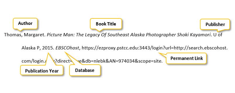 Thomas comma Margaret period Picture Man colon The Legacy Of Southeast Alaska Photographer Shoki Kayamori period U of Alaska P comma 2015 period EBSCOhost comma https://ezproxy.pstcc.edu:3443/login?url=http://search.ebscohost. com/login.aspx?direct=true&db=nlebk&AN=974034&scope=site period