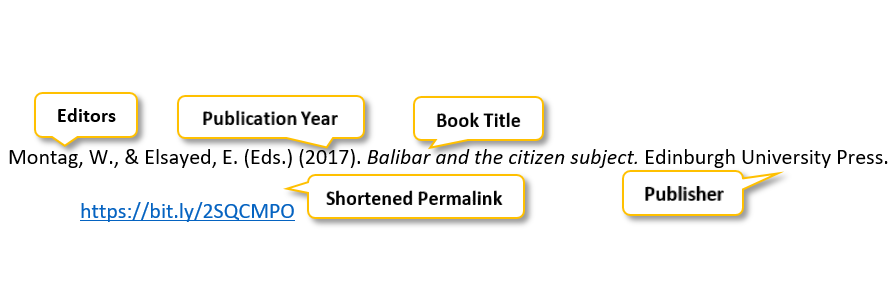 Montag comma W period comma ampersand Elsayed comma E period parenthesis Eds period parenthesis parenthesis 2017 parenthesis period Balibar and the citizen subject period Edinburgh University Press period https://bit.ly/2SQCMPO