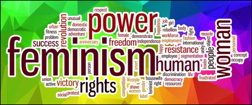 feminism world cloud