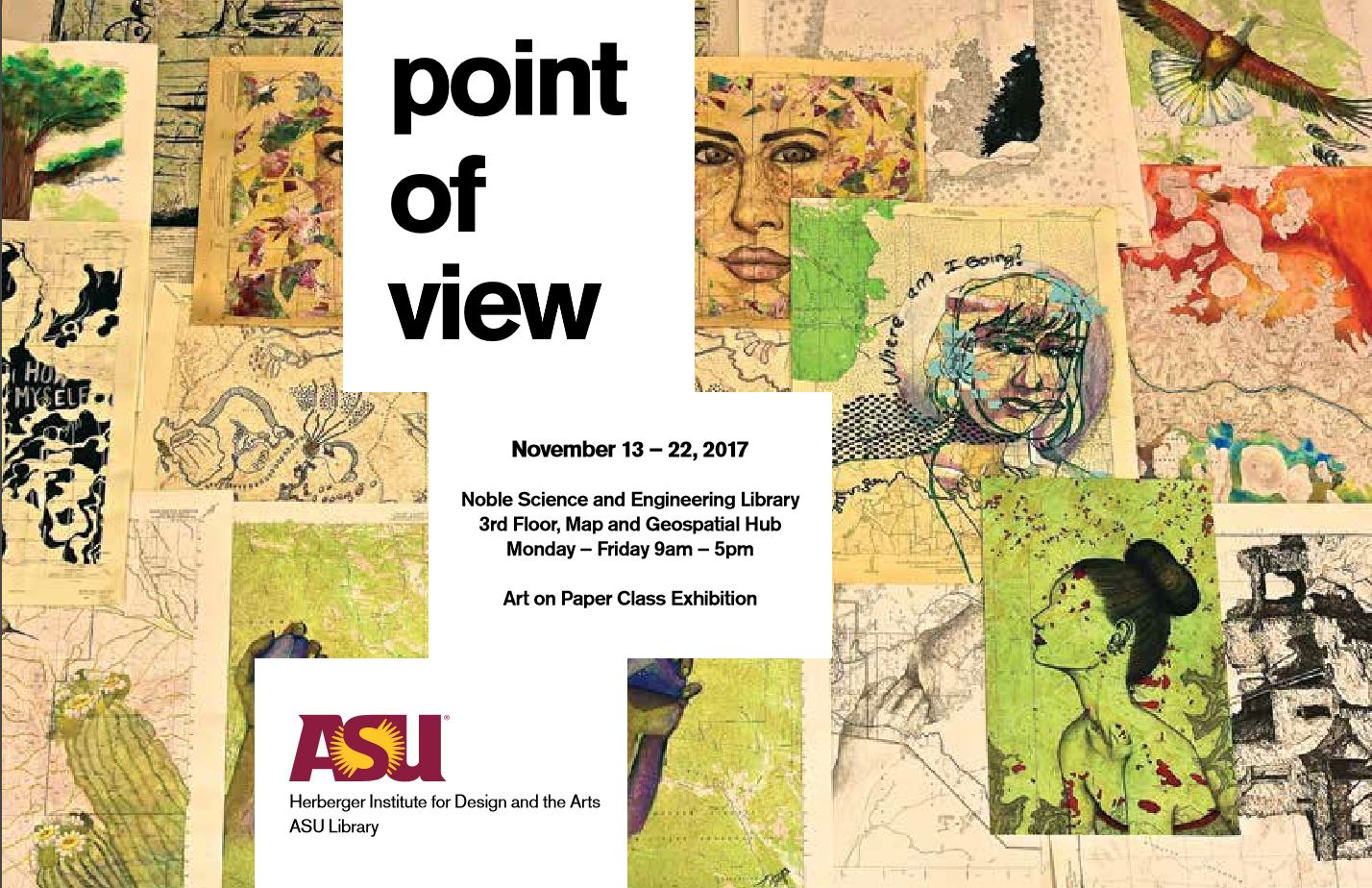 Point of View Art Exhibit, 2017.