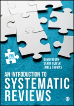 Cover page of the book an Introduction to Systematic reviews