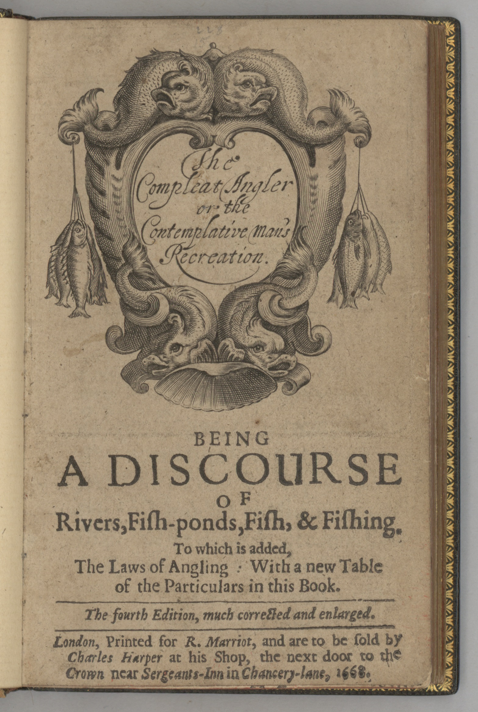 1668 Title Page
