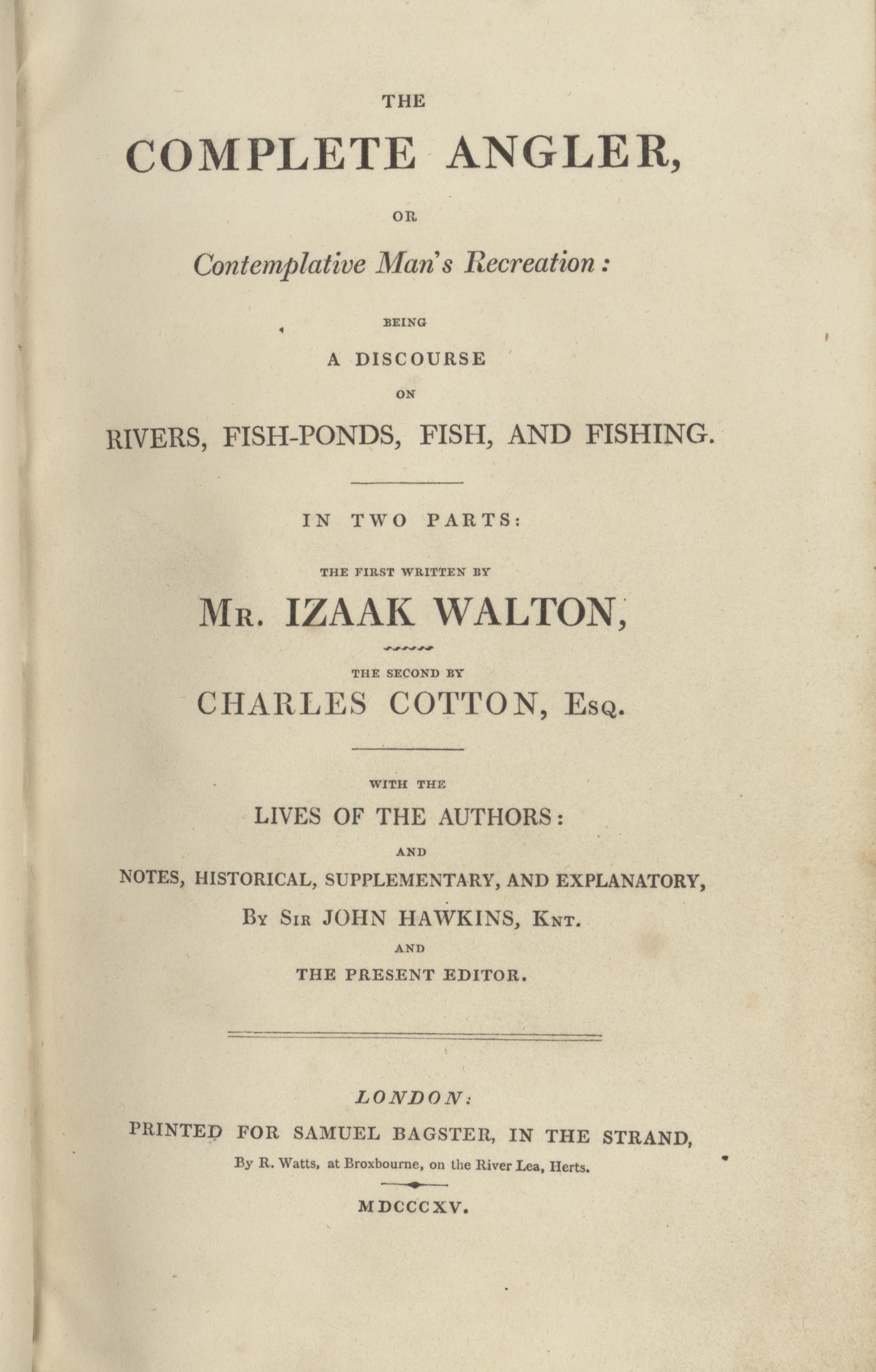 1815 TItle Page