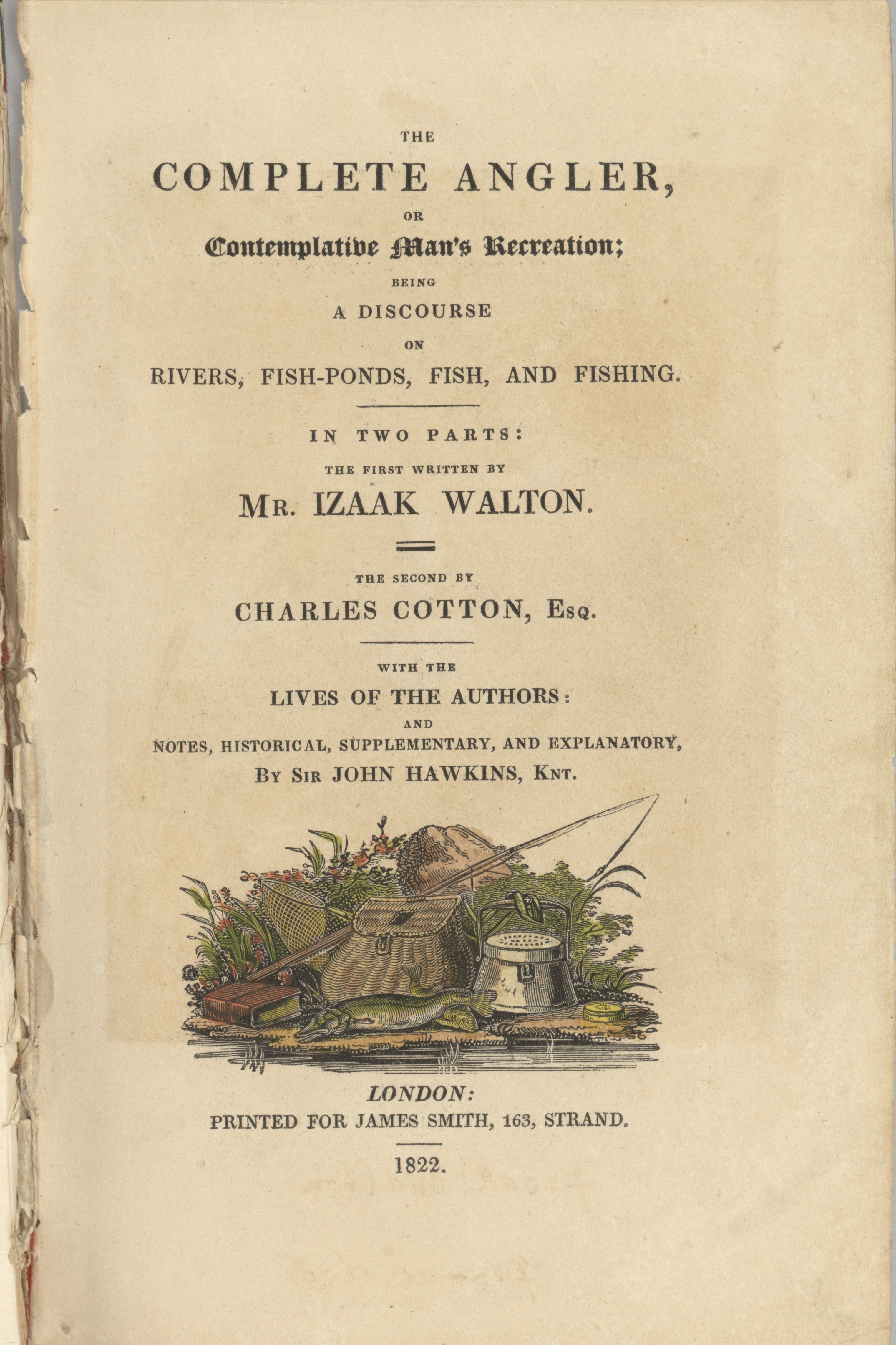1822 Title Page