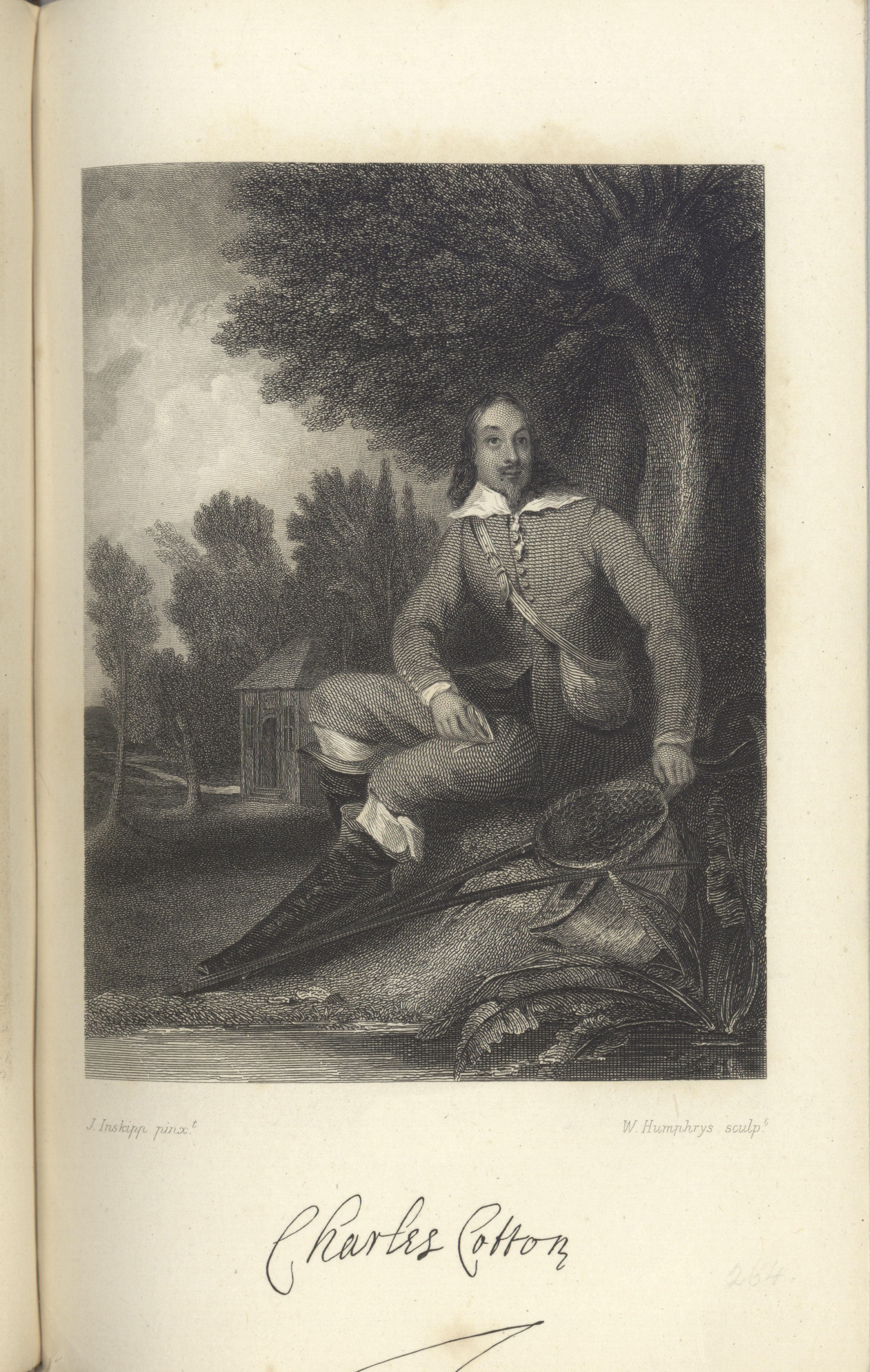 Portrait of Charles Cotton