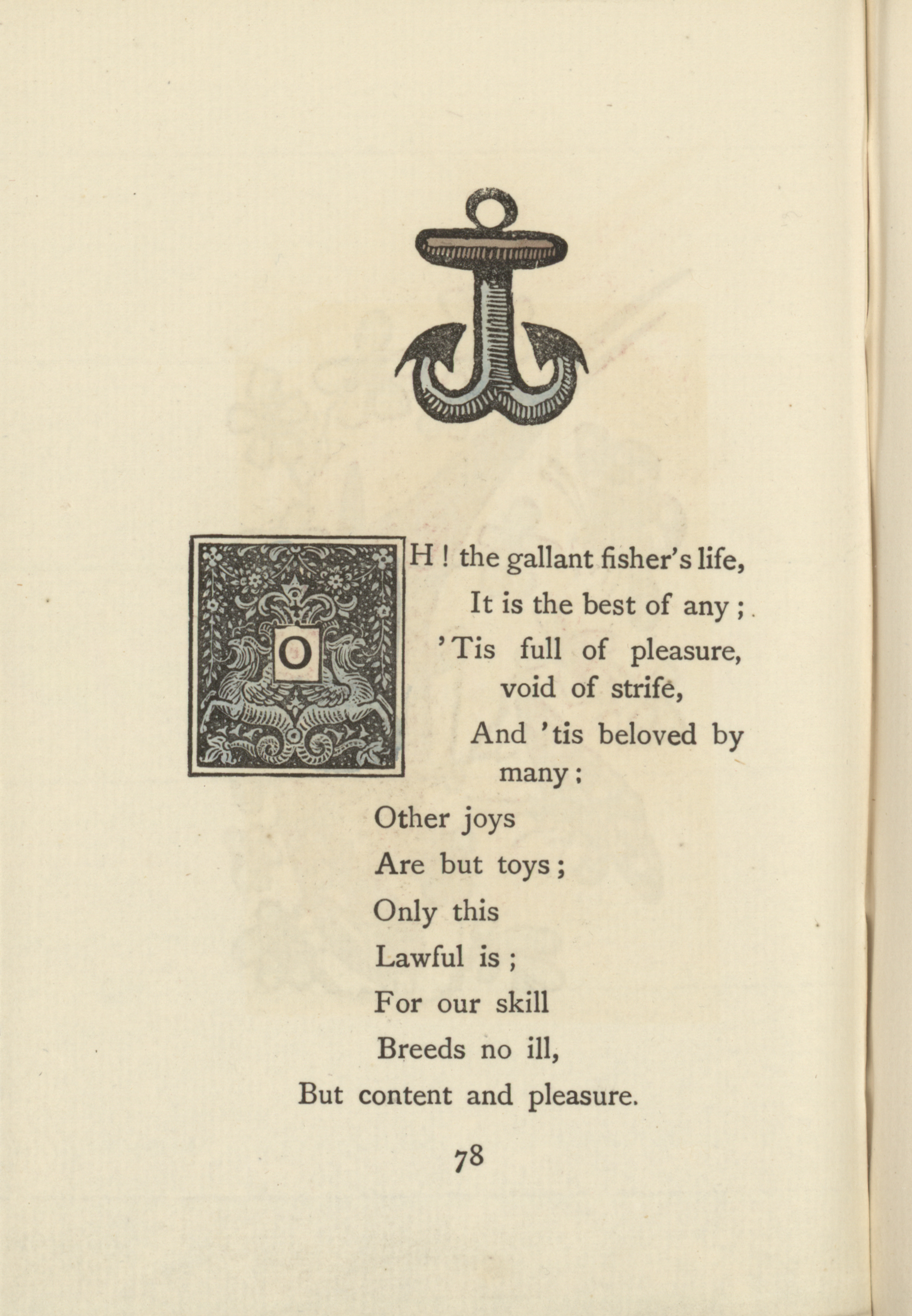 1855 Page with Anchor