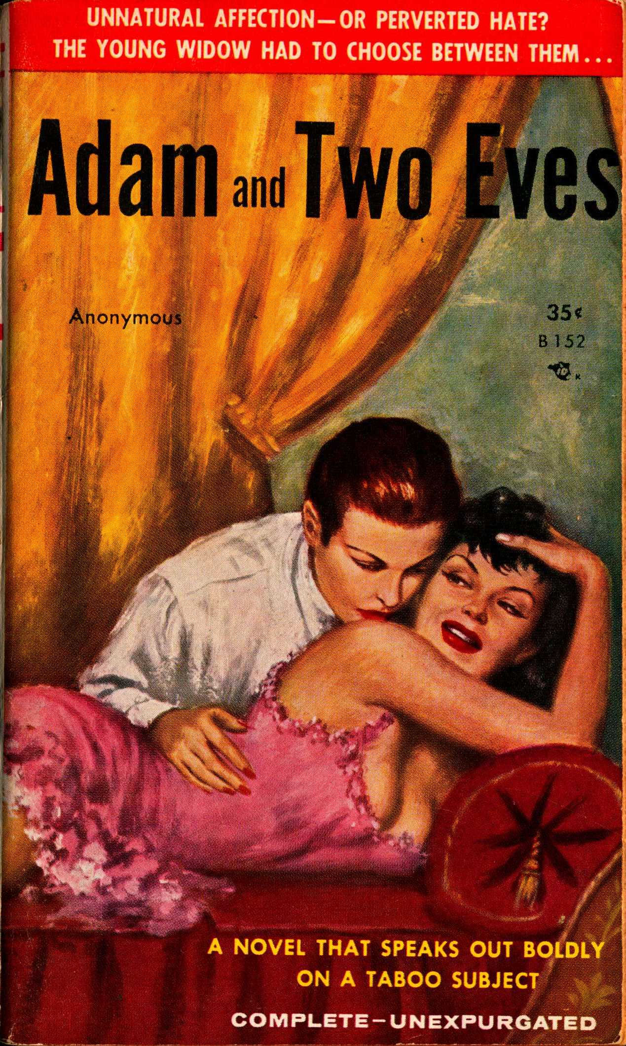 Cover to Adam and Two Eves by Anonymous