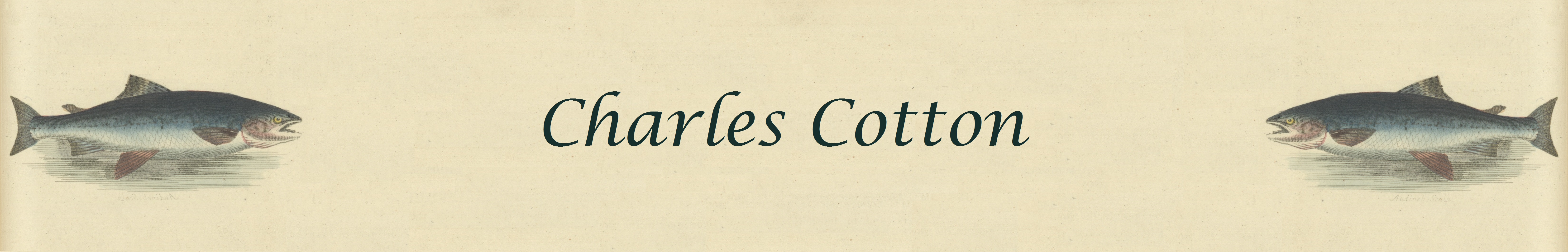 Charles Cotton Page Banner