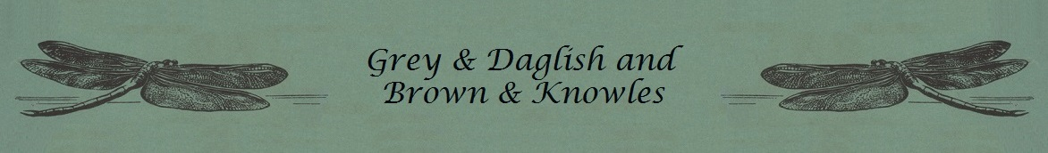 Grey & Daglish and Brown & Knowles Banner