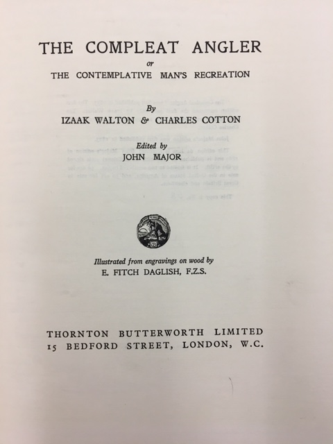 1927 Title Page