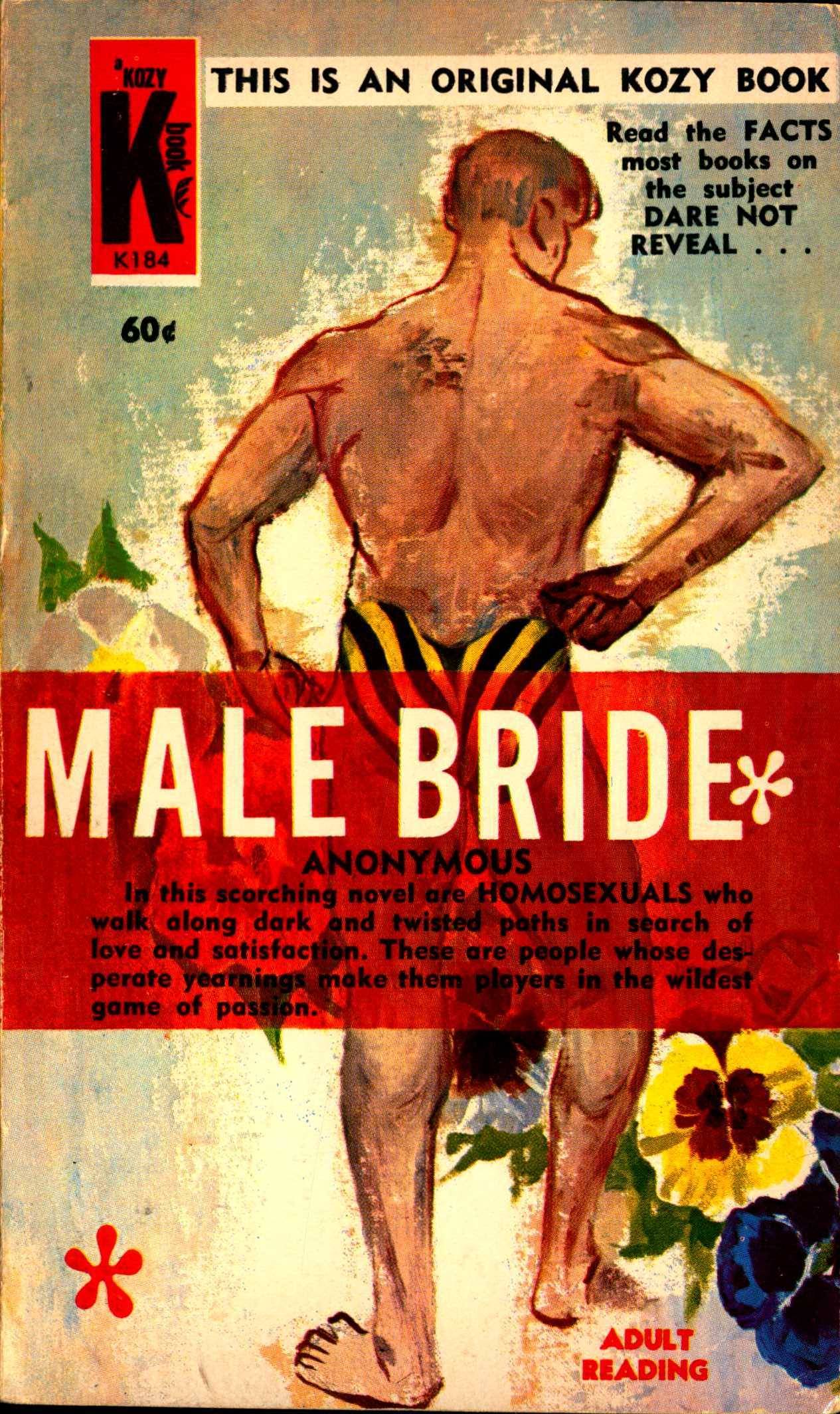 Cover to Male Bride by Anonymous