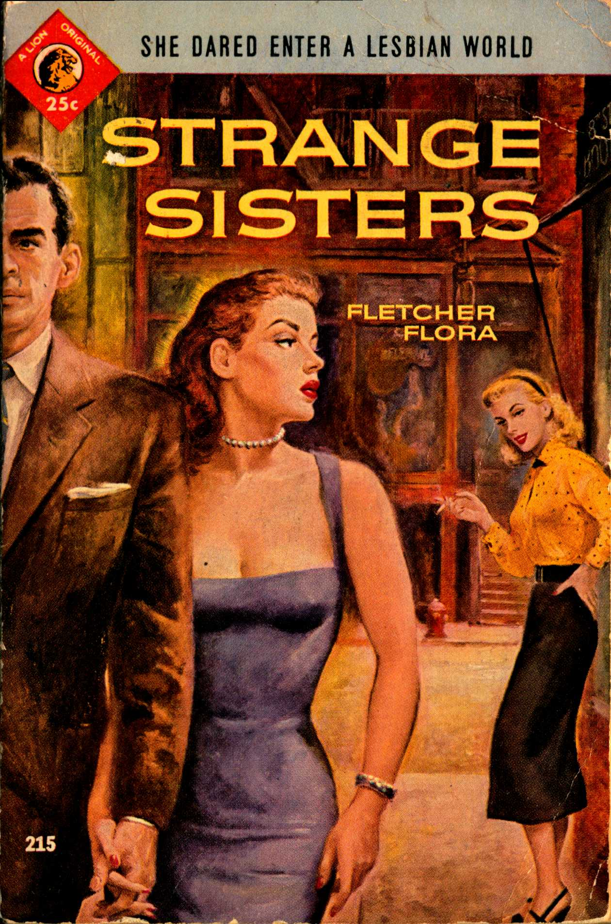 Cover to Strange Sisters by Fletcher Flora