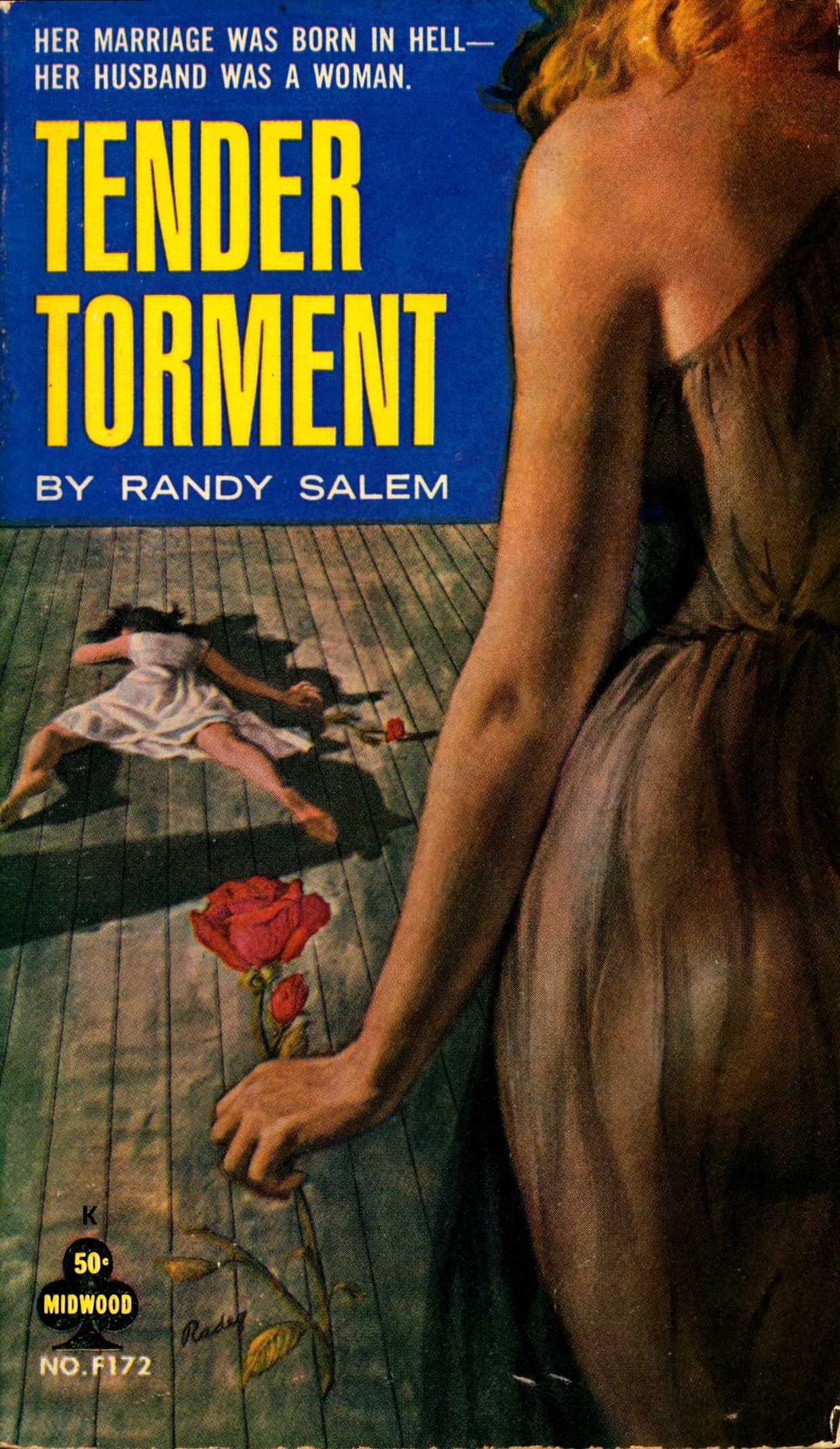 Cover to Tender Torment by Randy Salem