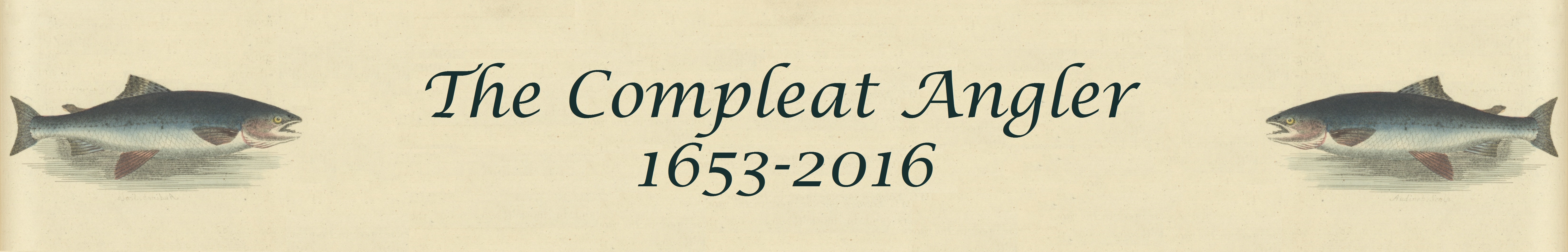 The Compleat Angler Page Banner