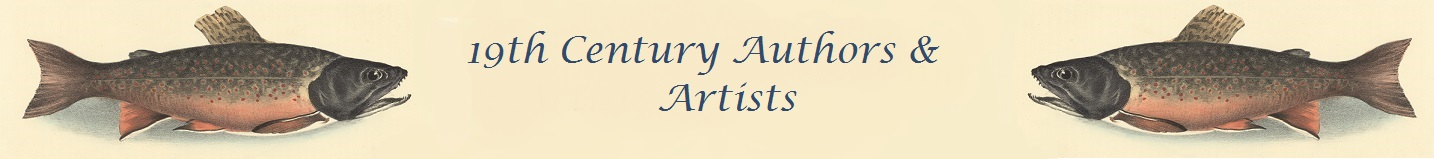 19th century authors and artists banner