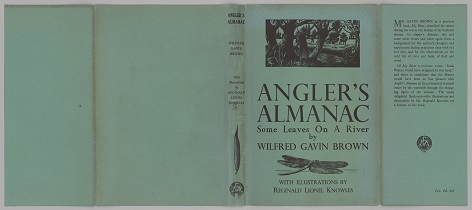Angler's Almanac full dust jacket