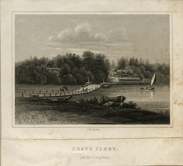 Gray's Ferry etching