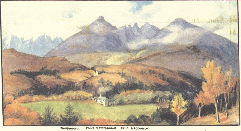 Watercolor of Dundonnell
