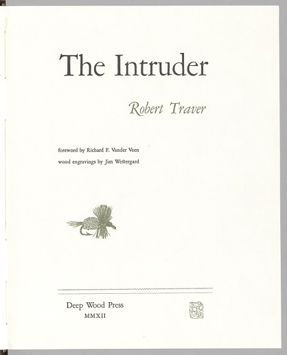 The Intruder title page