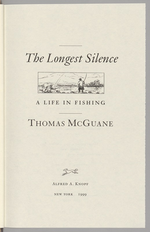 The Longest Silence title page