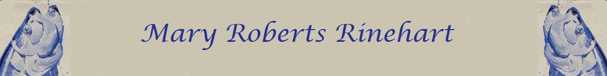 Mary Roberts Rinehart page banner