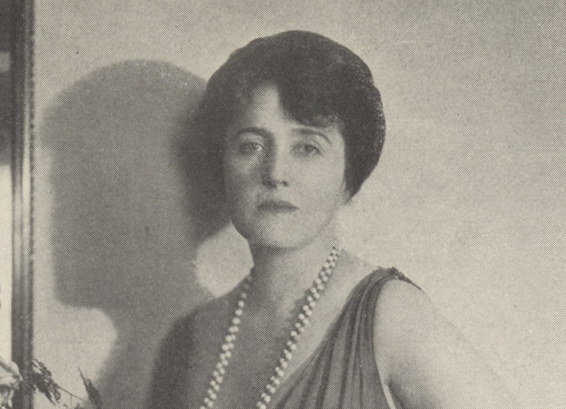 Portrait of Mary Roberts Rinehart