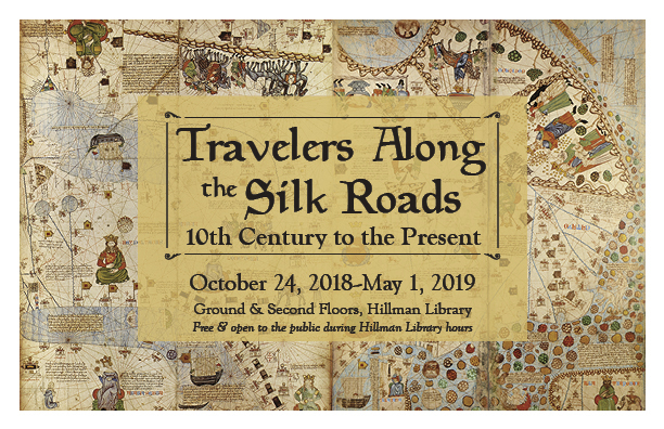 Travelers Along the Silk Roads postcard