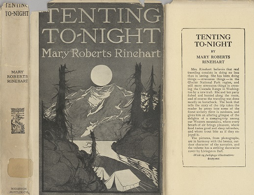 Tenting To-Night dust jacket