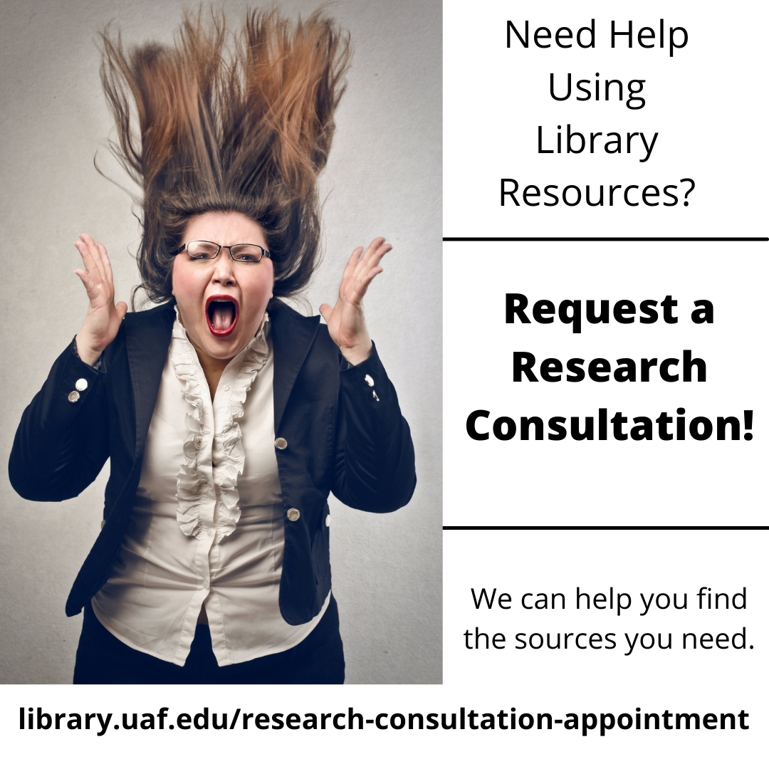 Stressed out about using the library? Request a Research Consultation Appointment!