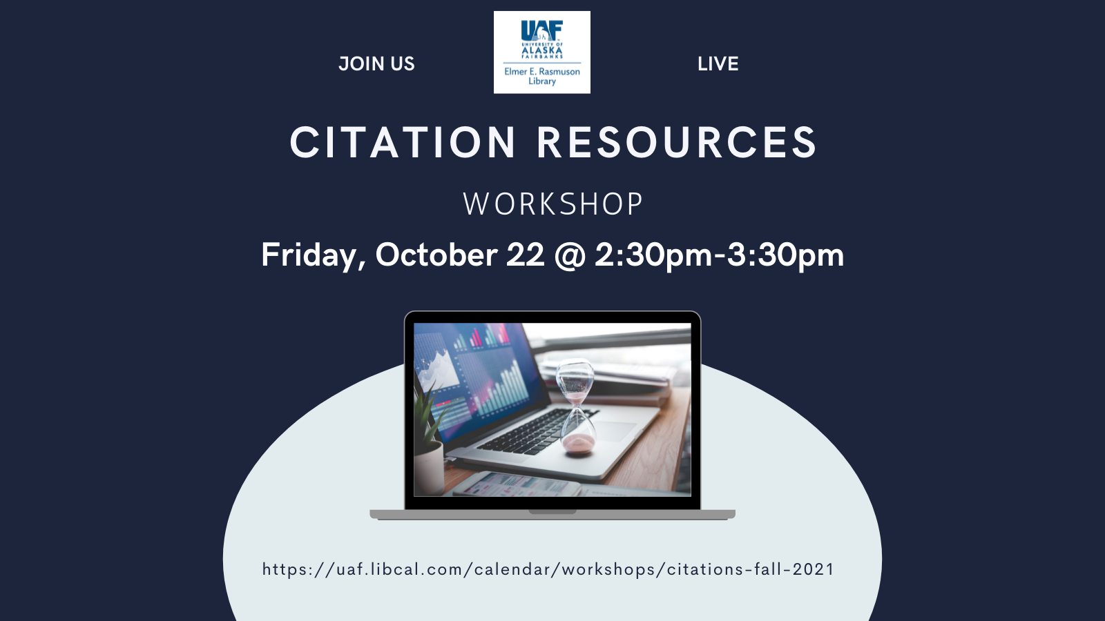 Citation Resources Workshop Oct. 22 starting at 2:30pm