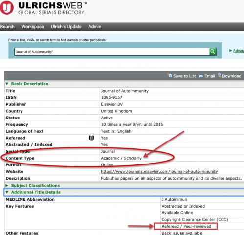 Screenshot of UlrichsWeb