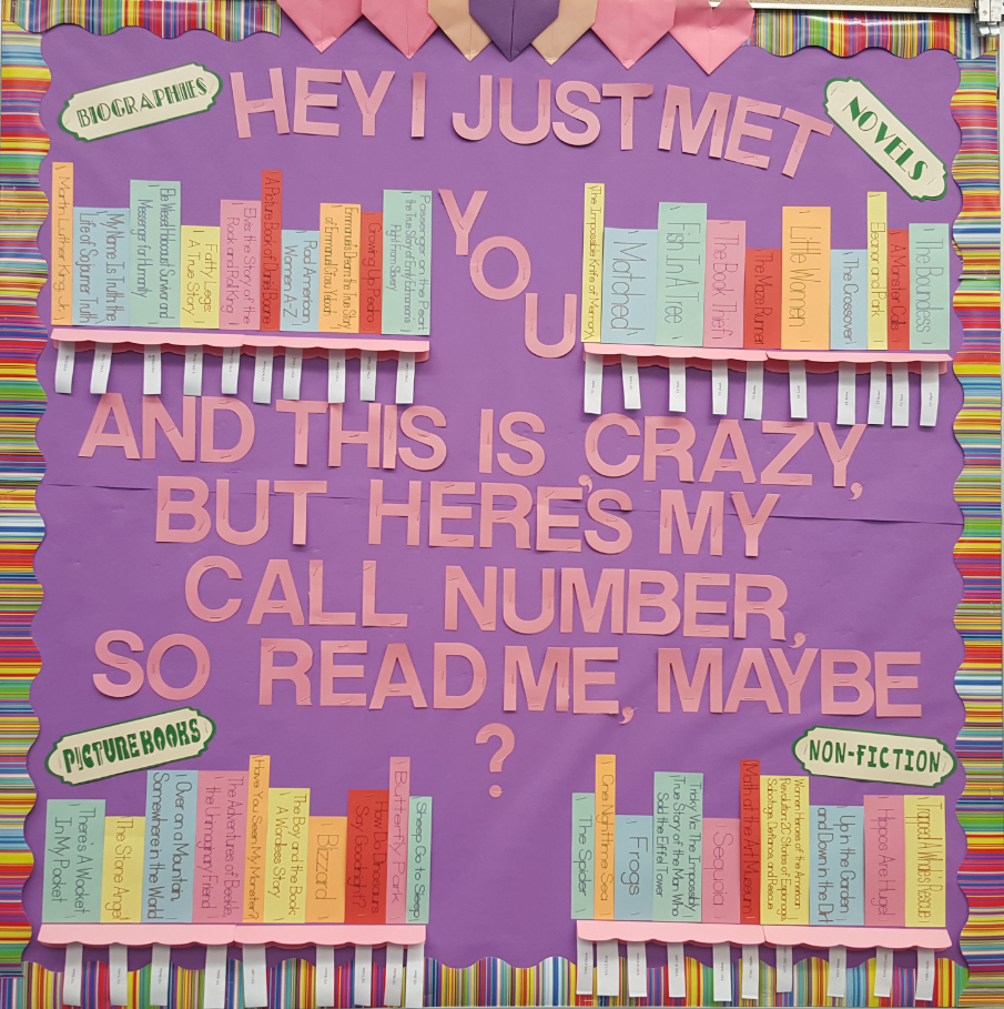 Read Me Maybe Bulletin Board