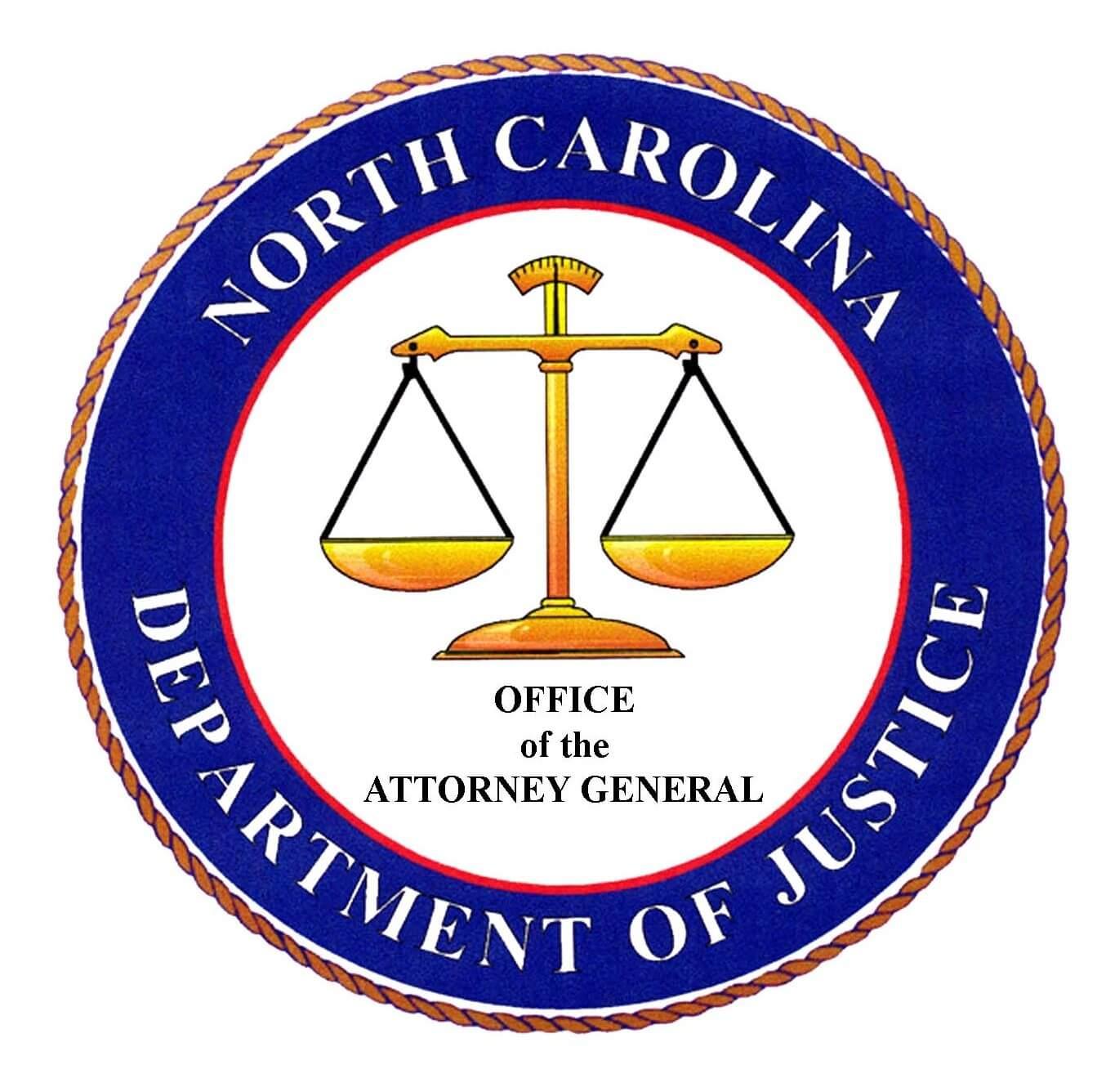 North Carolina Department of Justice Logo