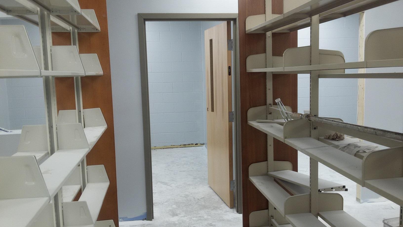 Door on new study room